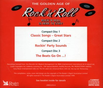 Various Artists - The Golden Age Of Rock 'n' Roll / Rock 'n' Roll Is Here To Stay (disc 3)