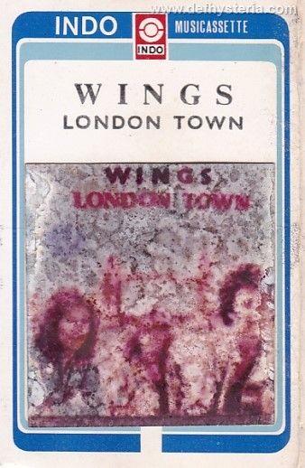Paul McCartney & Wings - London Town Audio Kaset Indo Musicassette catnr. 167