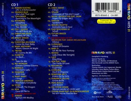 Various Artists - Bravo Hits 031 (disc 2) on Collectorz com