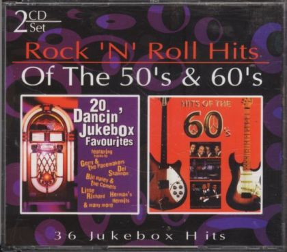 Various Artists - Rock 'N' Roll Hits Of The 50's & 60's Disc 1 - 20