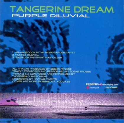 Tangerine Dream - Tangerine Dream I Saw God And/or